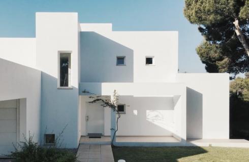 Βιοκλιματικό σπίτι με Φυσικό φωτισμό, Πράσινη στέγη, Ηλιοθερμία