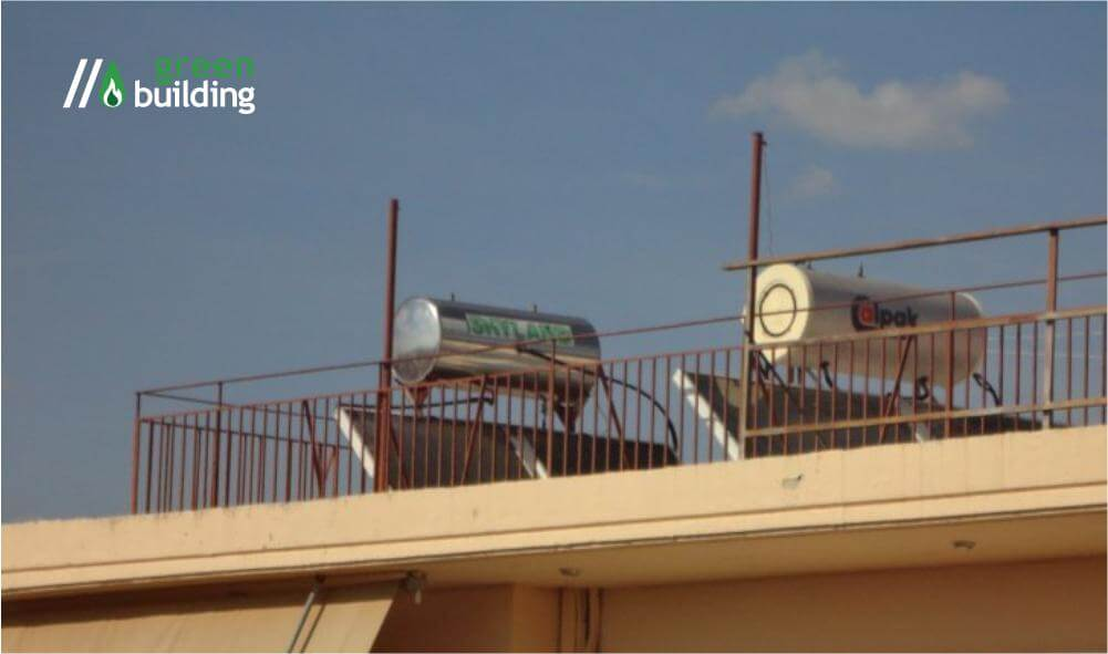 greenbuilding Ηλιακός ή ηλεκτρικός θερμοσίφωνας