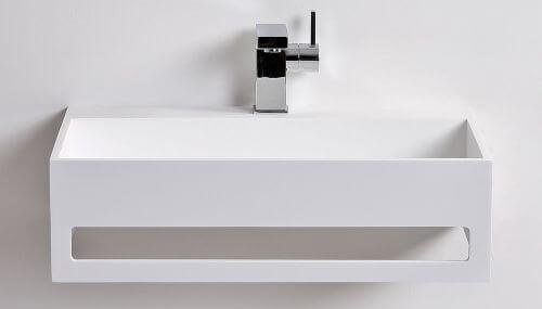 greenbuilding μικρό μπάνιο επίτοιχος νιπτήρας