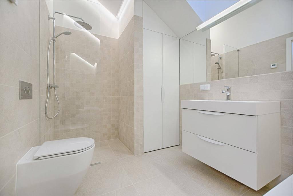 Πως το μικρό μπάνιο να φαίνεται μεγάλο ; Greenbuilding
