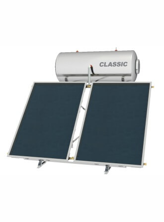Greenbuilding Ηλιακός ΘερμοσίφωναςNobel Classic με επιφάνεια συλλέκτη 2.6m² 200 λίτρων 200lt
