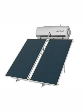 Greenbuilding Ηλιακός ΘερμοσίφωναςNobel Classic με επιφάνεια συλλέκτη 4,0m² 200 λίτρων 200lt