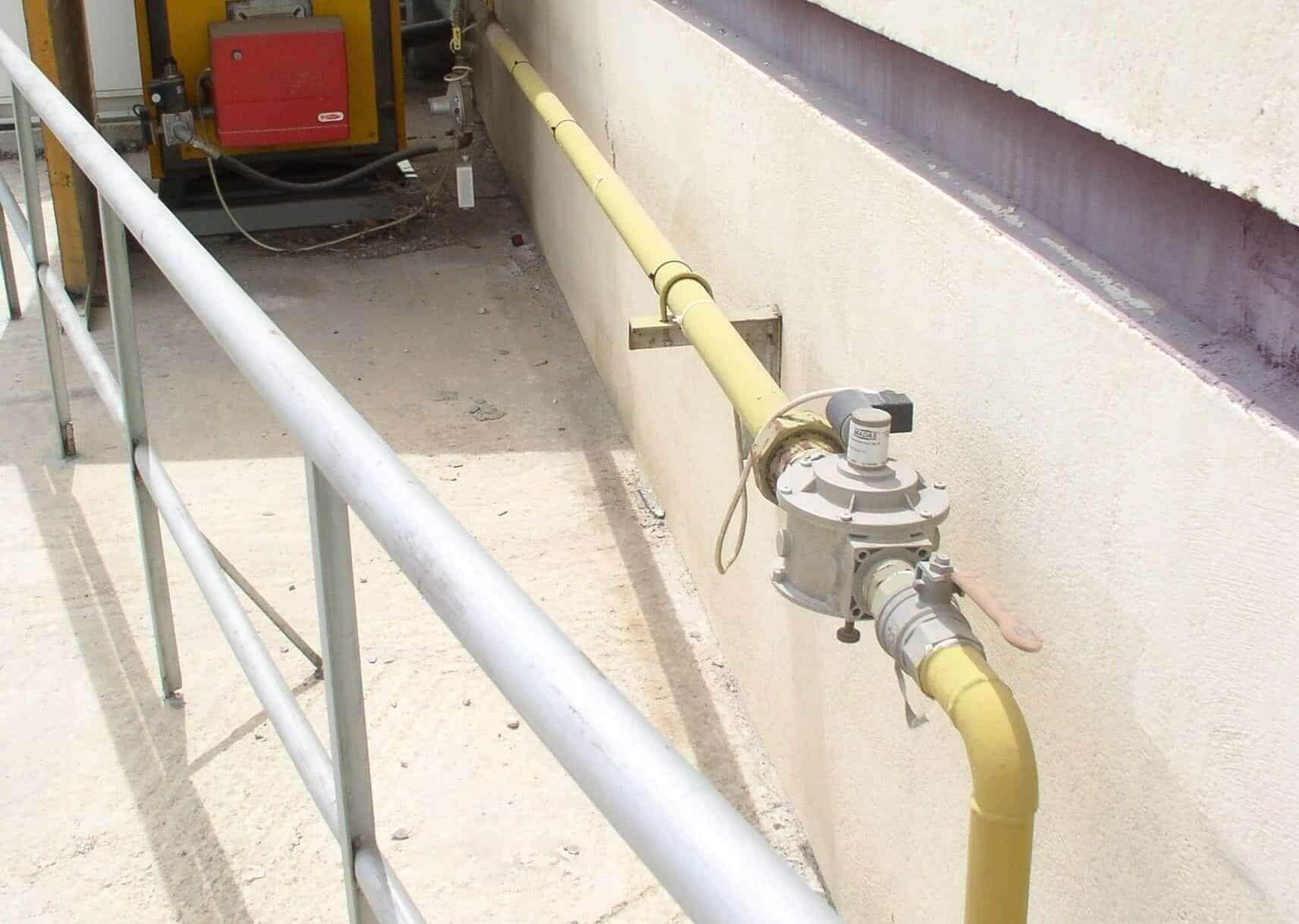 Μελέτη φυσικού αερίου για βιομηχανία